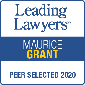 2020 Leading Lawyer - Maurice Grant