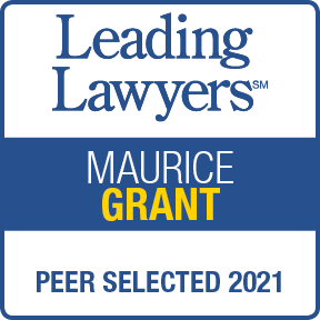 2021 Leading Lawyer - Maurice Grant
